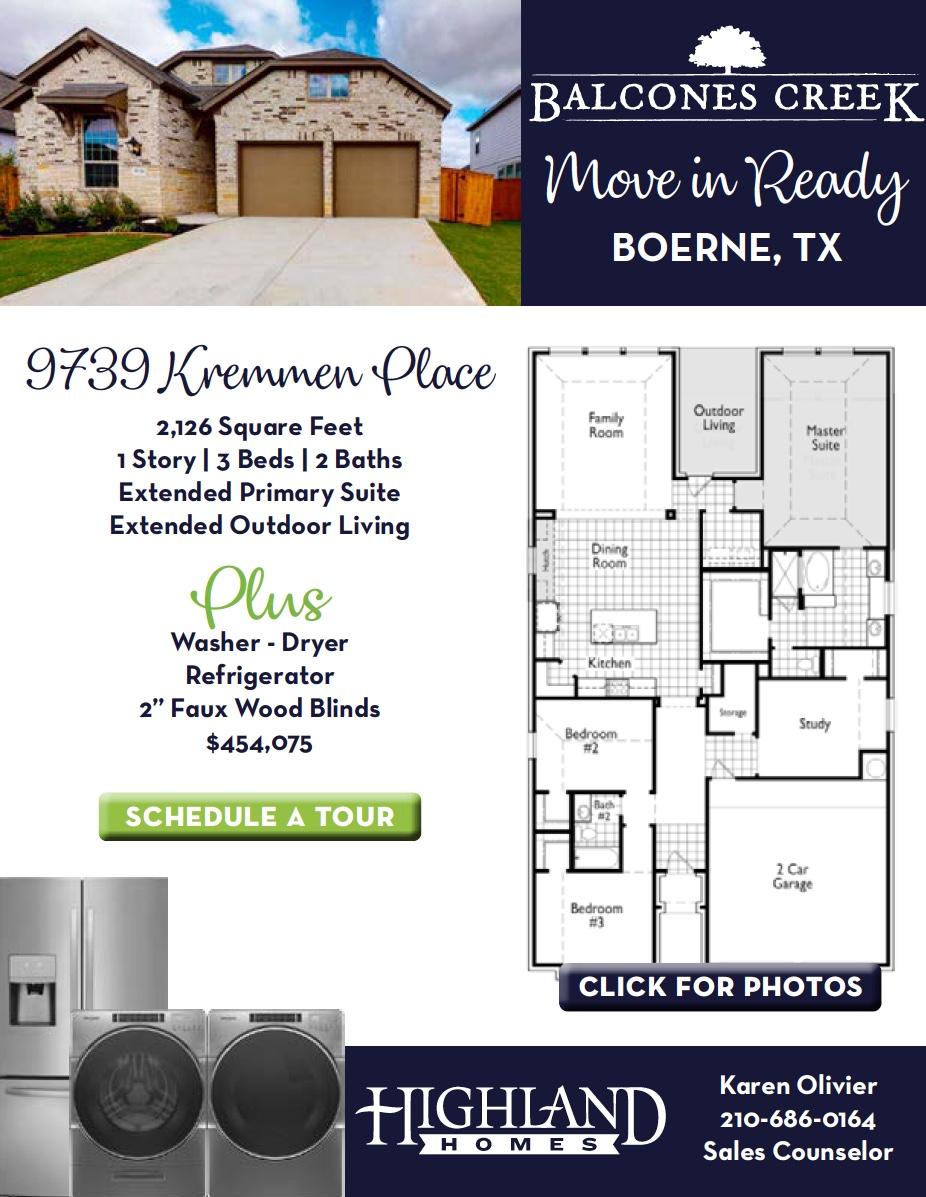 Highland Homes San Antonio TX
