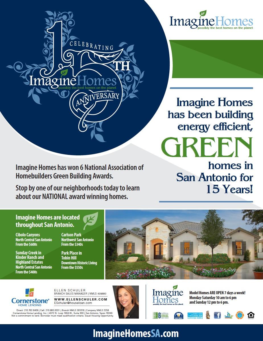 Imagine Homes 15th Anniversary
