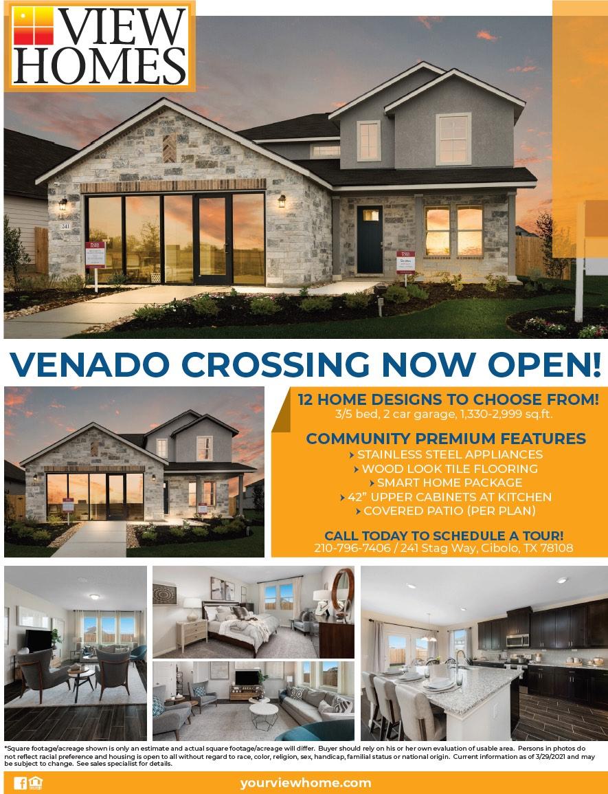View Homes Venado Crossing